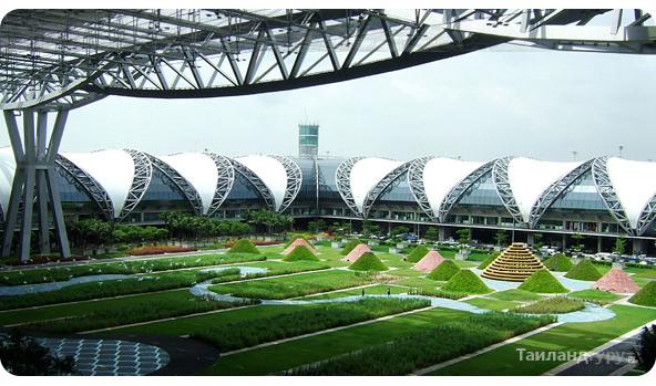 Suvarnabhumi крупнейший аэропорт в Бангкоке